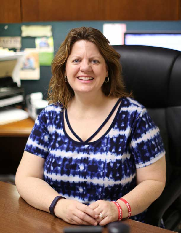 Barbara Hodges, Office Manager